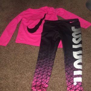 Girls Nike set